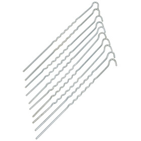 CAMPZ Gewellt Stahl Erdnagel 30cm
